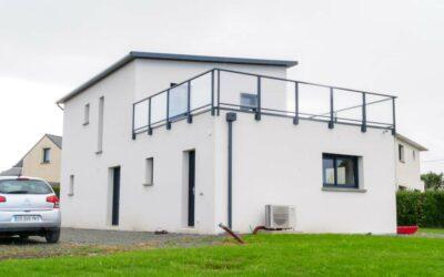 Maison neuve à Henvic